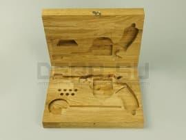 1545 Деревянный футляр для револьвера Наган