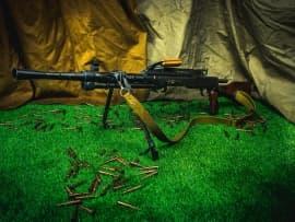 1602 Макет массогабаритный ручного пулемета РП-46