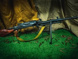 1603 Макет массогабаритный ручного пулемета РП-46