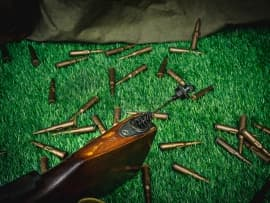 1604 Макет массогабаритный ручного пулемета РП-46