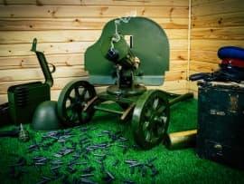 1618 Макет массогабаритный станкового пулемета Максима