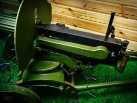 1621 Макет массогабаритный станкового пулемета Максима