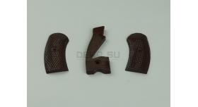 Накладки на рукоять для револьвера Наган / Бакелитовые оригинал склад [наган-58]