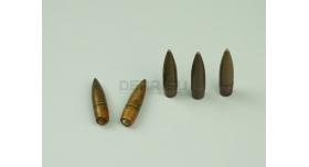 Пули 7.62х54-мм для Мосина, СВД, СВТ/АВТ, СКС / Новые оболоченные остроконечные стальной сердечник [пул-60]