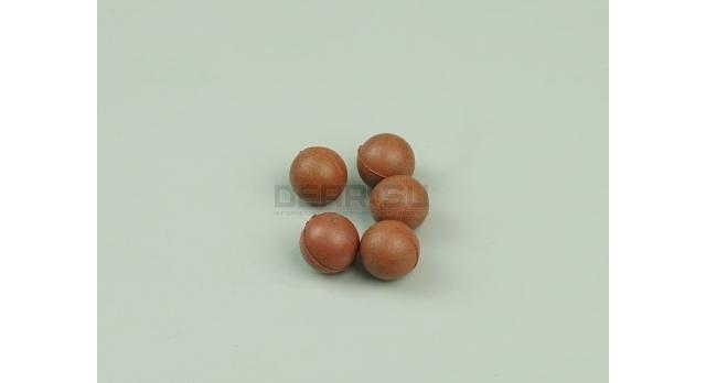 Резиновые шарики 9 P.A. (9х22-мм) / Красные жесткие 0.7 г [пул-40]