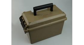 Кейс для патронов пластиковый герметичный MTM ACC9 Ammo Can Combo / На 1000 патронов кал.: 9х19-мм Люгер,9х18-мм [мт-413]