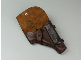 Кобура для пистолета ПМ / Коричневая кожа ранняя новая [сн-210]