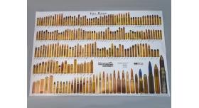 Плакат с патронами Big Bore (Standard & Obsolete)
