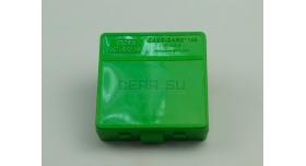 Контейнер пластиковый для патронов MTM Case Gard 100 / Зеленый на 100 патронов 9х19, .380 ACP, 9х18 новый [мт-324]