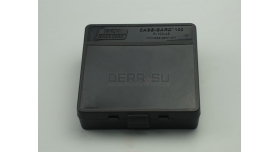 Контейнер пластиковый для патронов MTM Case Gard 100 / Черный на 100 патронов .45 ACP, .45 Auto новый [мт-424]