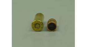 Комплект 9.1х29-мм (.38 Spec) пуля с капсюлированной гильзой / Новый оболоченная пуля с латунной гильзой [мт-442]