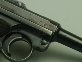 2096 Макет массогабаритный пистолета Люгер Парабеллум Р-08