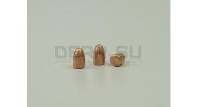Пули 9х19-мм (Люгер, парабеллум) [пул-41] Новые оболоченные омедненные оживальные