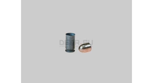 Комплект 9х17-мм (.380 Auto) пуля с капсюлированной гильзой [мт-455]