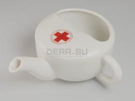 3319 Медицинский фарфоровый поильник для раненых