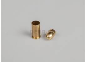 Комплект 7.65х17-мм (32 auto) пуля с капсюлированной гильзой
