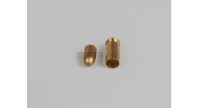 Комплект 6.35х15-мм (25 auto) пуля с капсюлированной гильзой / Новый оболоченная пуля с латунной гильзой [мт-470]