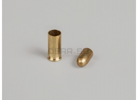 Комплект 6.35х15-мм (25 auto) пуля с капсюлированной гильзой