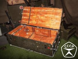 3822 Армейский укупорочный ящик для автоматов АК-74
