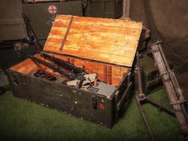3825 Армейский укупорочный ящик для автоматов АК-74