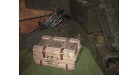 Армейский укупорочный ящик для ручных дымовых гранат РДГ-2 / Деревянный без перегородок (62х40х33) [ящ-8]
