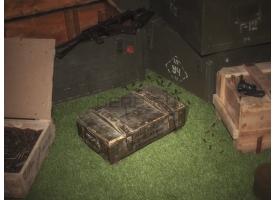 Армейский укупорочный ящик для учебных гранат РГД-5 и запалов УЗРГМ-2
