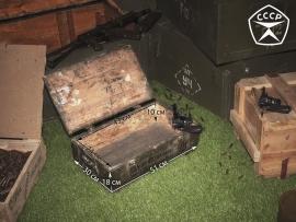 3845 Армейский укупорочный ящик для учебных гранат РГД-5 и запалов УЗРГМ-2