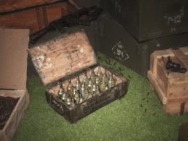 3846 Армейский укупорочный ящик для учебных гранат РГД-5 и запалов УЗРГМ-2