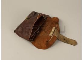 Универсальный подсумок для винтовки Мосина / Комплект из 2-х подсумков кожа 1941 год [вм-130]