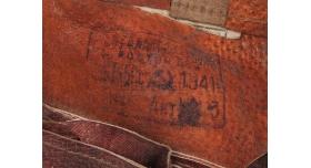 Универсальный подсумок для винтовки Мосина / Компелект из 2-х подсумков кожа 1941 год [сн-8/5]