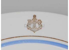Тарелка для вторых блюд ВМФ / Тип 2 [ф-72]
