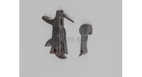 Курок и казенник для револьвера Наган под боковой бой / Оригинал склад без клейма [наган-100]