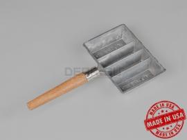 4440 Форма для свинца LEE 4-Cavity Ingot Mold with Handle