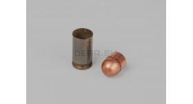 Комплект для ПМ армейский оболоченная пуля с стальным сердечником и лакированная стальная гильза [мт-536]