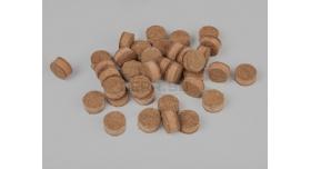 Пыж ДВП (древесно-волокнистый осаленный) / 16 калибр, основной Н10 200 шт. [мт-497-1]