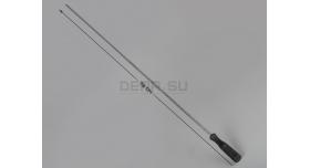 Шомпол для гладкоствольного оружия / Цельный, алюминиевый диаметр: 7-мм; длина: 79 см [мт-495]