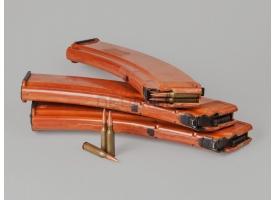 Магазин для РПК-74 / На 45 патронов рыжий бакелит гладкий склад [ак-78]