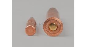 Комплект 7.62х54-мм(для Мосина) /Новый полуоболоченная биметалическая пуля и биметалическая гильза НПЗ [мт-652]