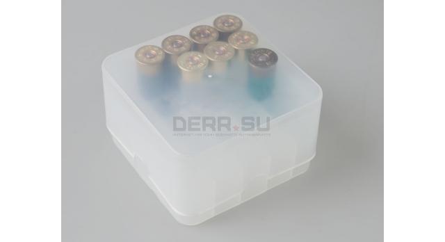 Коробка для патронов MTM 25 Rd Shotshell Box / Для 12 калибра [мт-743]