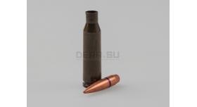 Комплект 5.45х39-мм / Новый армейский оболоченная пуля с стальным сердечником и лакированная стальная гильза [мт-810]