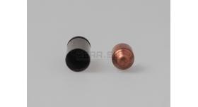 Комплект для ПМ Новый оболоченная пуля и стальная гильза с полимерным покрытием и капсюлем бердан Tulammo [мт-811]