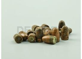 Пули 7.62х25-мм для ТТ, ППШ и ППС / Новые омедненные оживальные [пул-20]